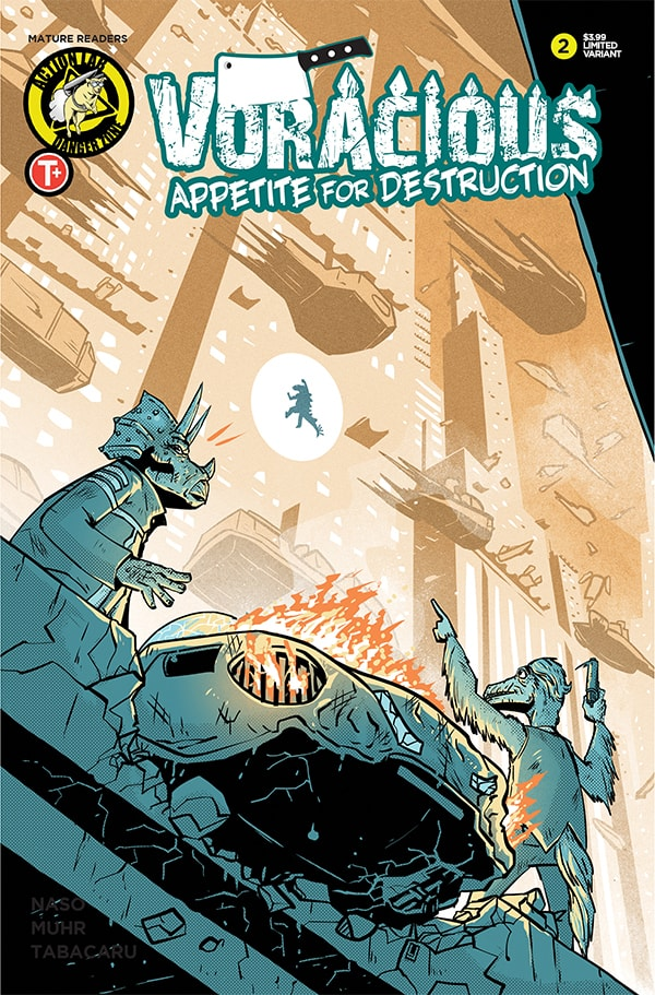 VORACIOUS: APPETITE FOR DESTRUCTION #2 - Cover B
