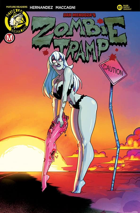 Zombie Tramp #61 Cover C