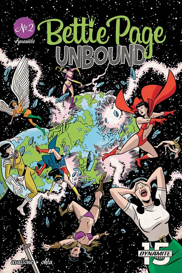 Bettie Page: Unbound #2 - Cover B