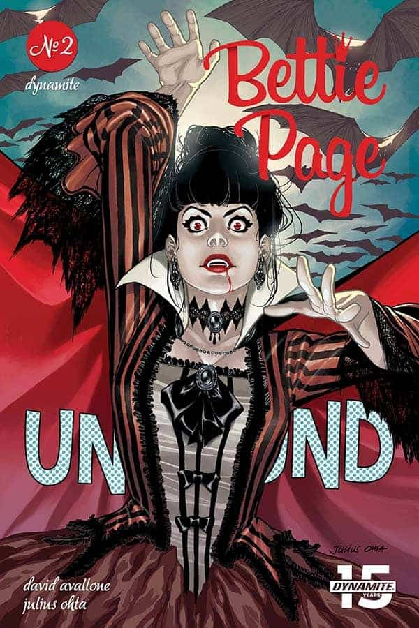 Bettie Page: Unbound #2 - Cover D