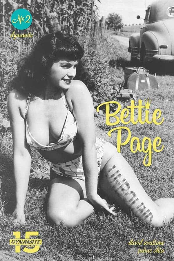Bettie Page: Unbound #2 - Cover E