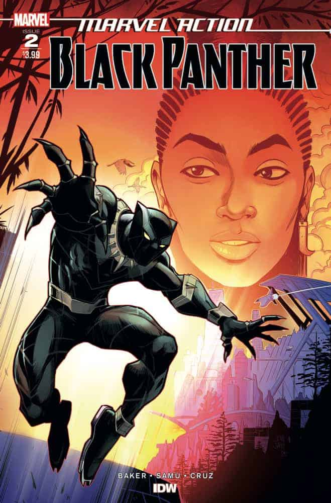 MARVEL ACTION: BLACK PANTHER #2 - Cover A