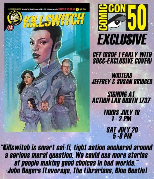 Convention] SDCC: Action Lab Announces Exclusives & Signings