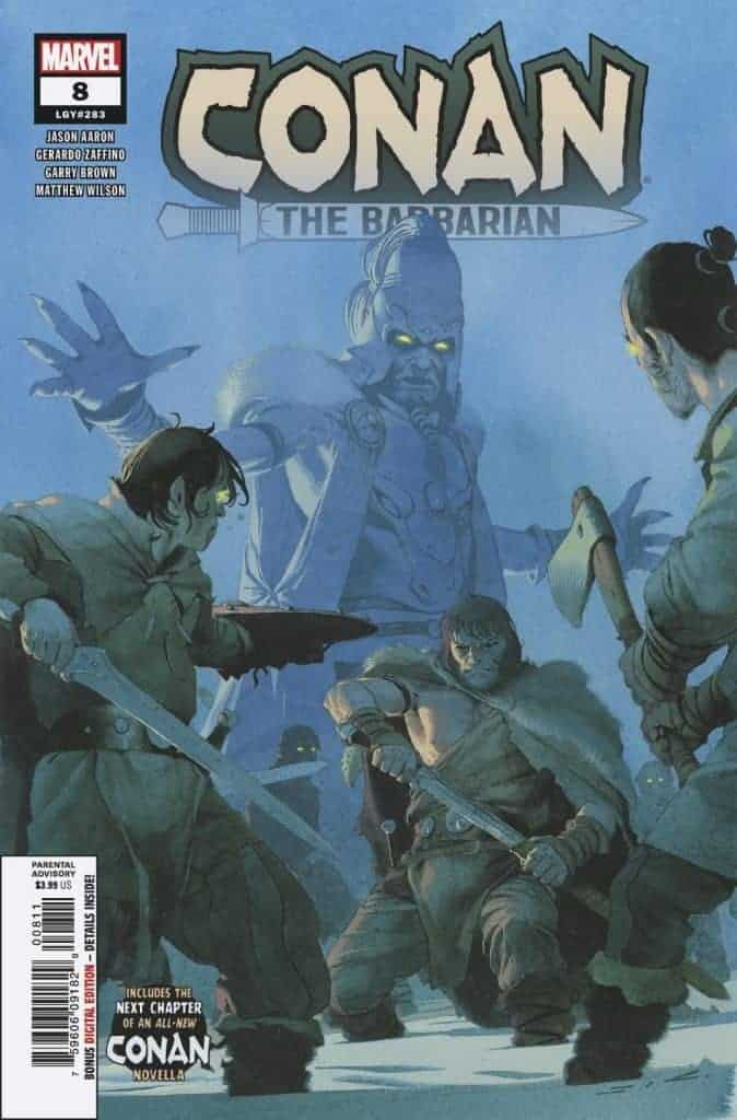CONAN THE BARBARIAN #8 - Cover A