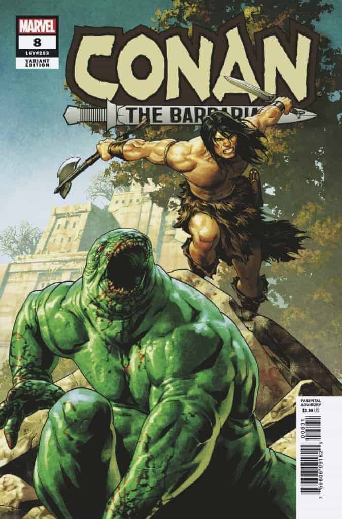 CONAN THE BARBARIAN #8 - Cover B