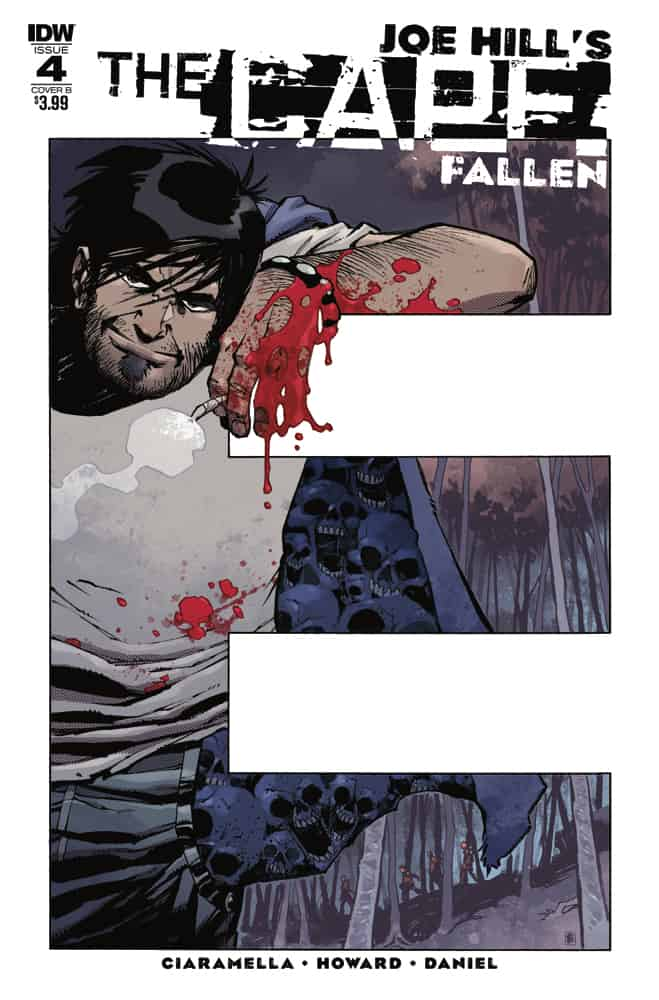The Cape: Fallen #4 - Cover B