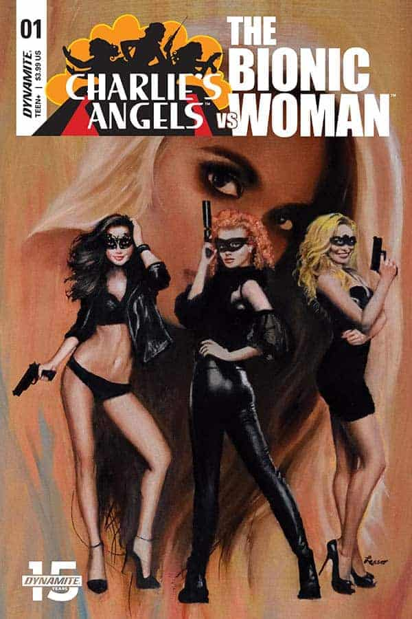 Charlie's Angels vs The Bionic Woman #1 - Cover C