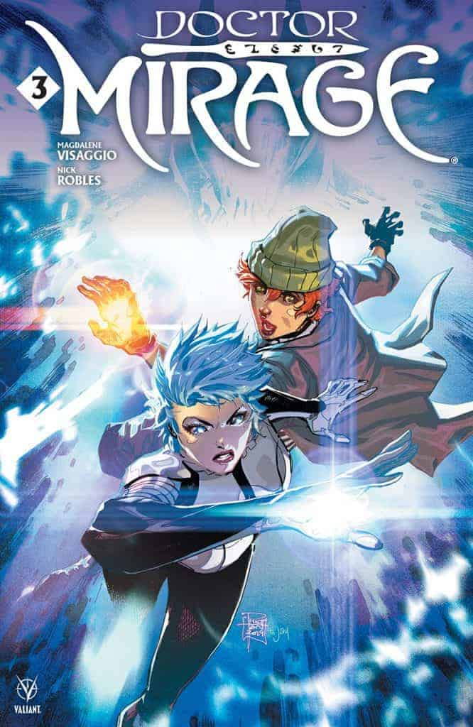 DOCTOR MIRAGE #3 - Cover A