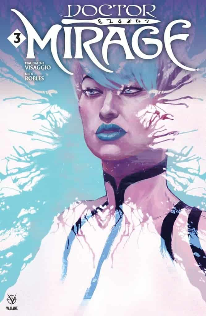DOCTOR MIRAGE #3 - Cover B