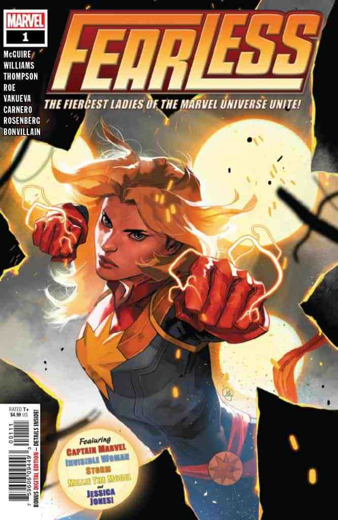 FEARLESS #1 - Cover A
