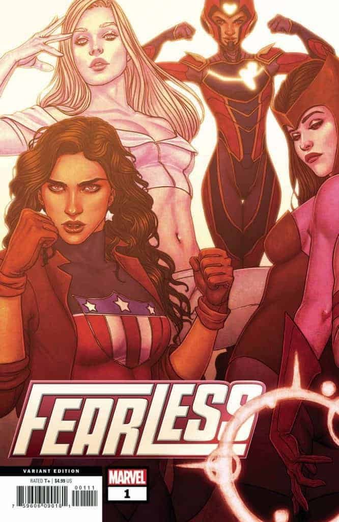FEARLESS #1 - Cover B