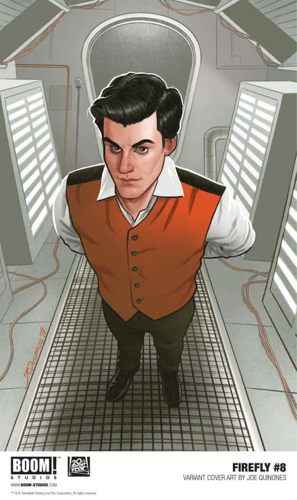Firefly #8 - Variant Cover by Joe Quinones