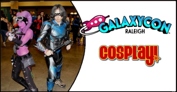 GalaxyCon Raleigh cosplay feature