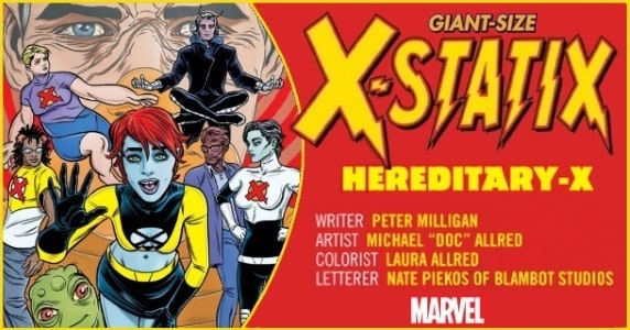 Giant Size X-Statix #1 preview feature 1