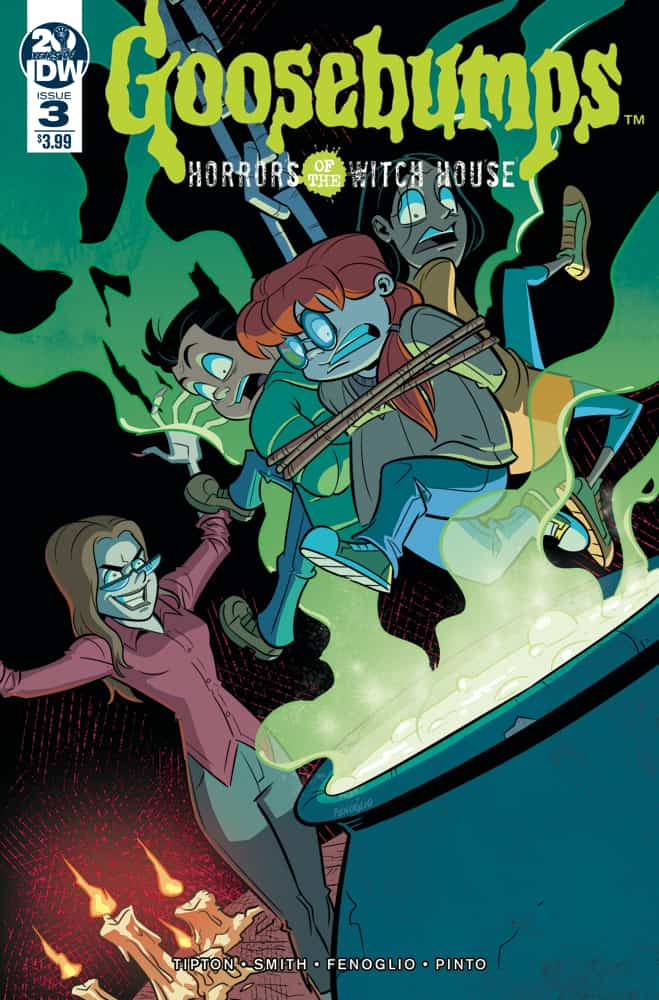 Goosebumps: Horrors Of The Witch House #3 - Cover A