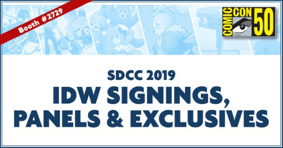 IDW at SDCC feature