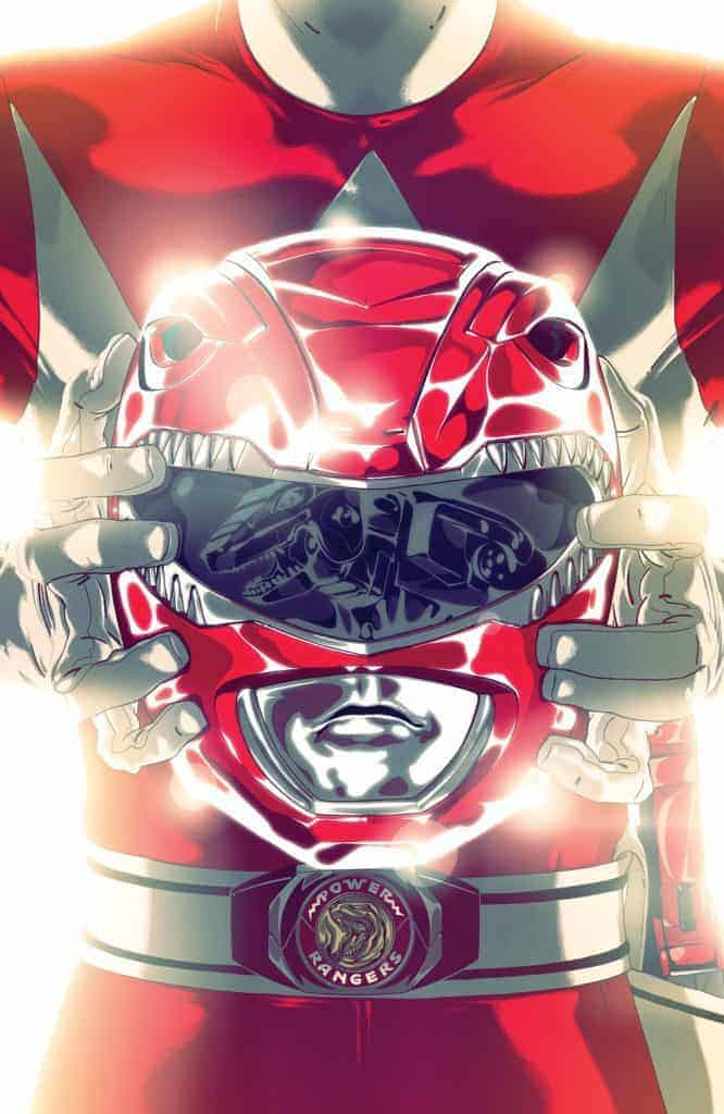 Mighty Morphin Power Rangers #41 - Foil Cover