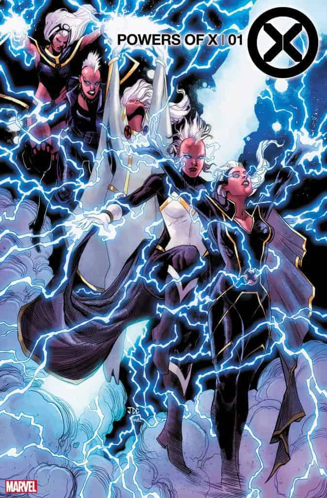 POWERS OF X #1 - Cover F