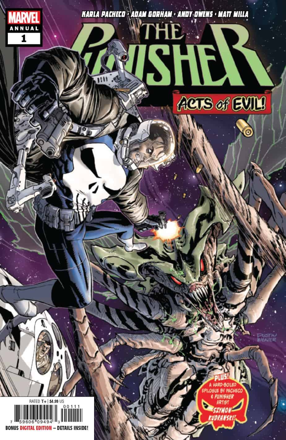 Punisher Annual #1 – Cover A