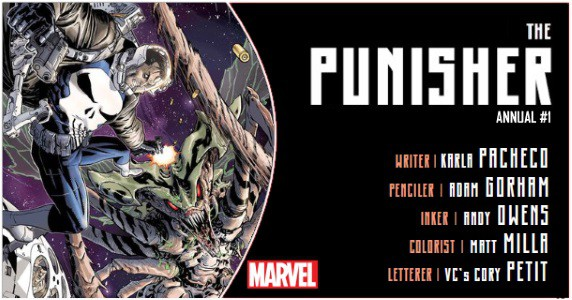 Punisher Annual #1 preview feature