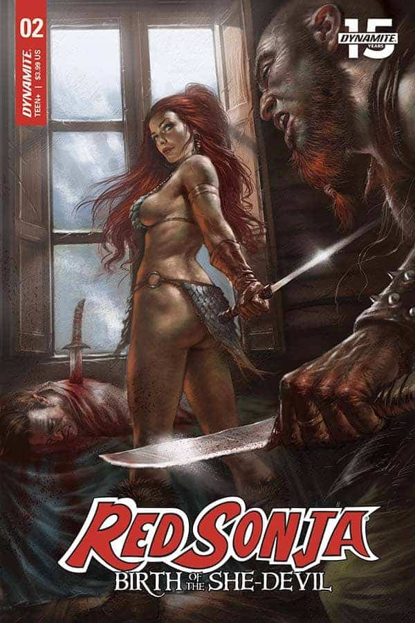 Red Sonja: Birth of the She-Devil #2 - Cover A