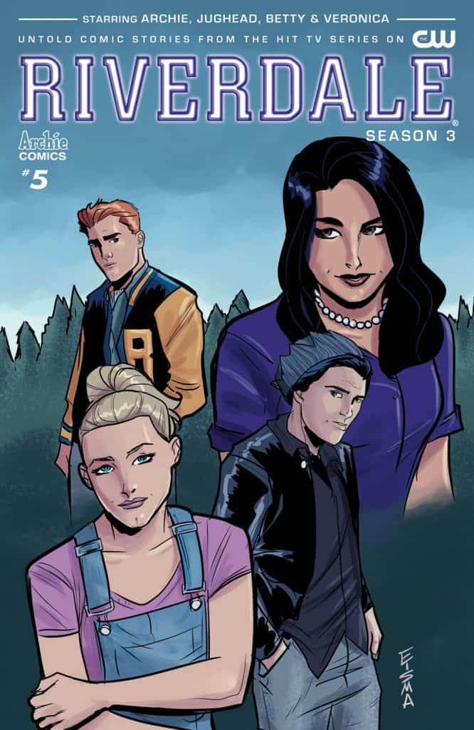 RIVERDALE Season 3 #5 - Variant Cover by Joe Eisma
