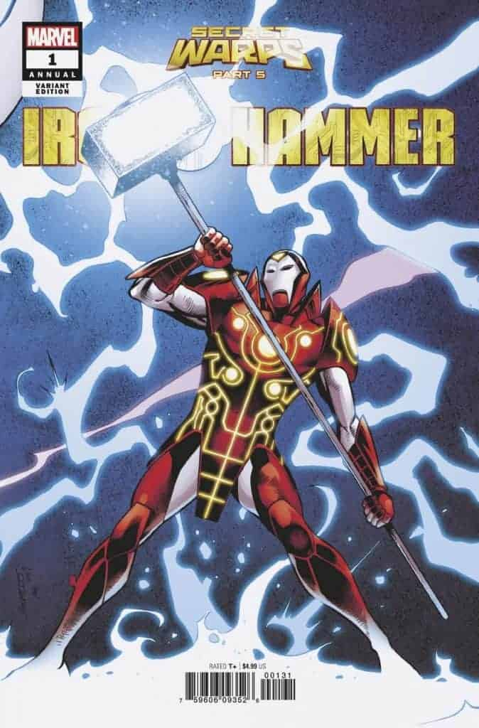 SECRET WARPS: IRON HAMMER ANNUAL #1 - Variant Cover