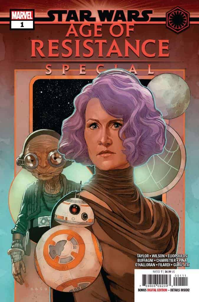 STAR WARS AGE OF RESISTANCE SPECIAL #1 - Cover A