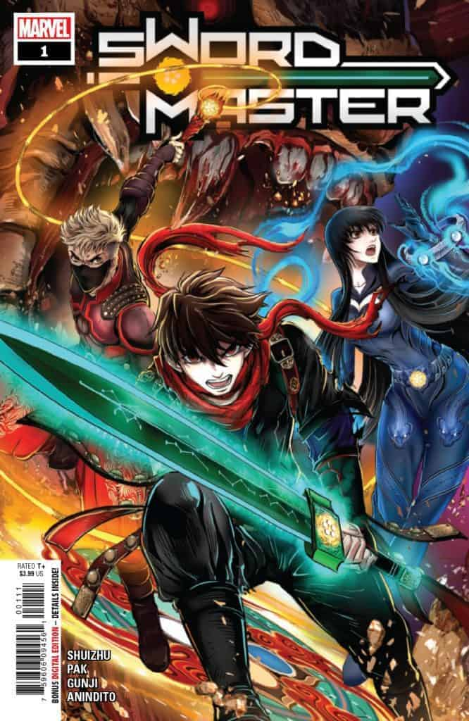 SWORD MASTER #1 - Cover A