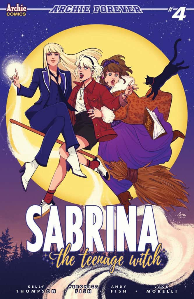 SABRINA THE TEENAGE WITCH #4 - Variant Cover by Audrey Mok