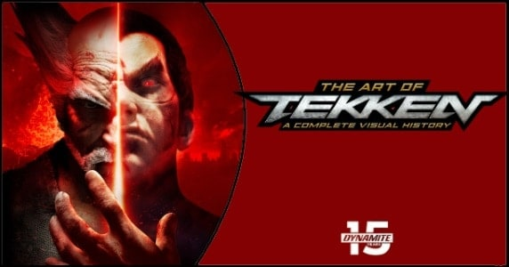THE ART OF TEKKEN THE COMPLETE VISUAL HISTORY DELUXE EDITION HARDCOVER preview feature