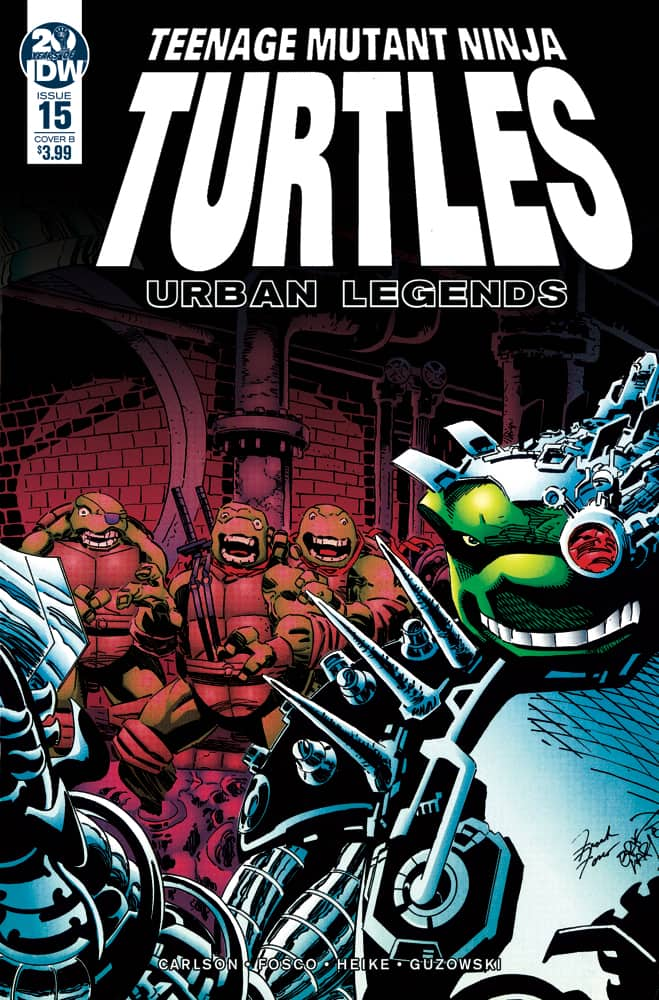 TMNT: Urban Legends #15 - Cover B
