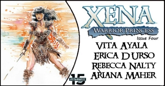 Xena Warrior Princess #4 preview feature