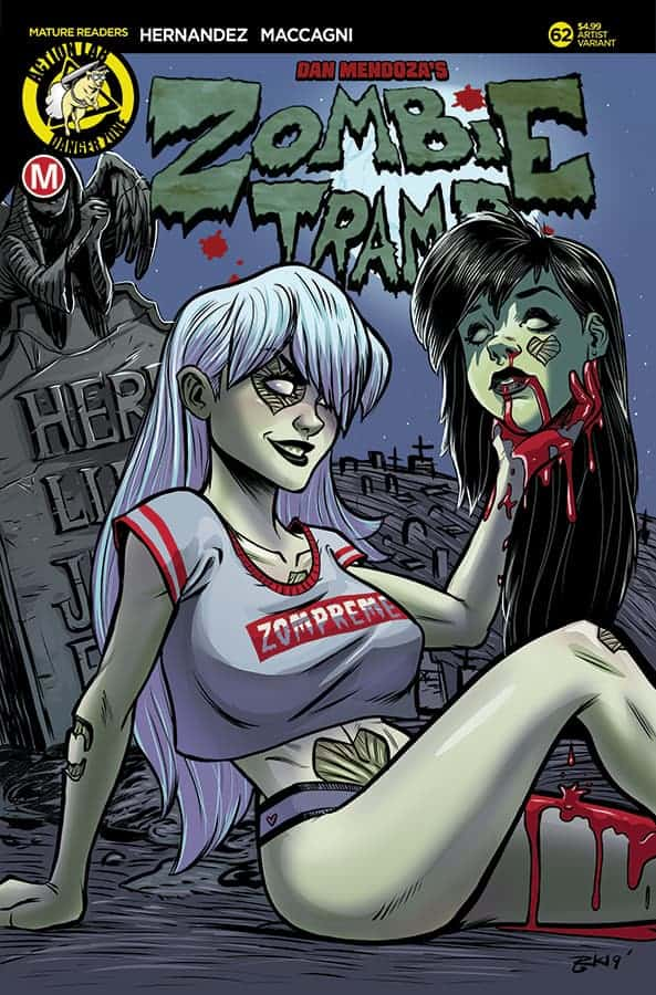 Zombie Tramp #62 Cover C