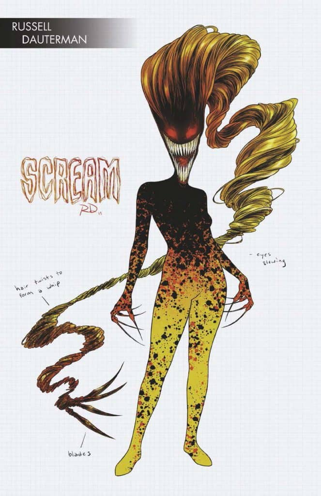 ABSOLUTE CARNAGE: SCREAM #1 - Cover F