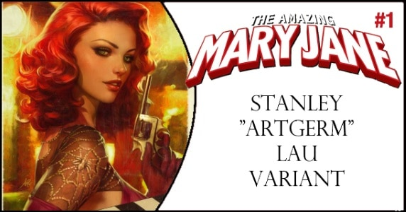 AMAZING MARY JANE 1 ARTGERM VARIANT feature