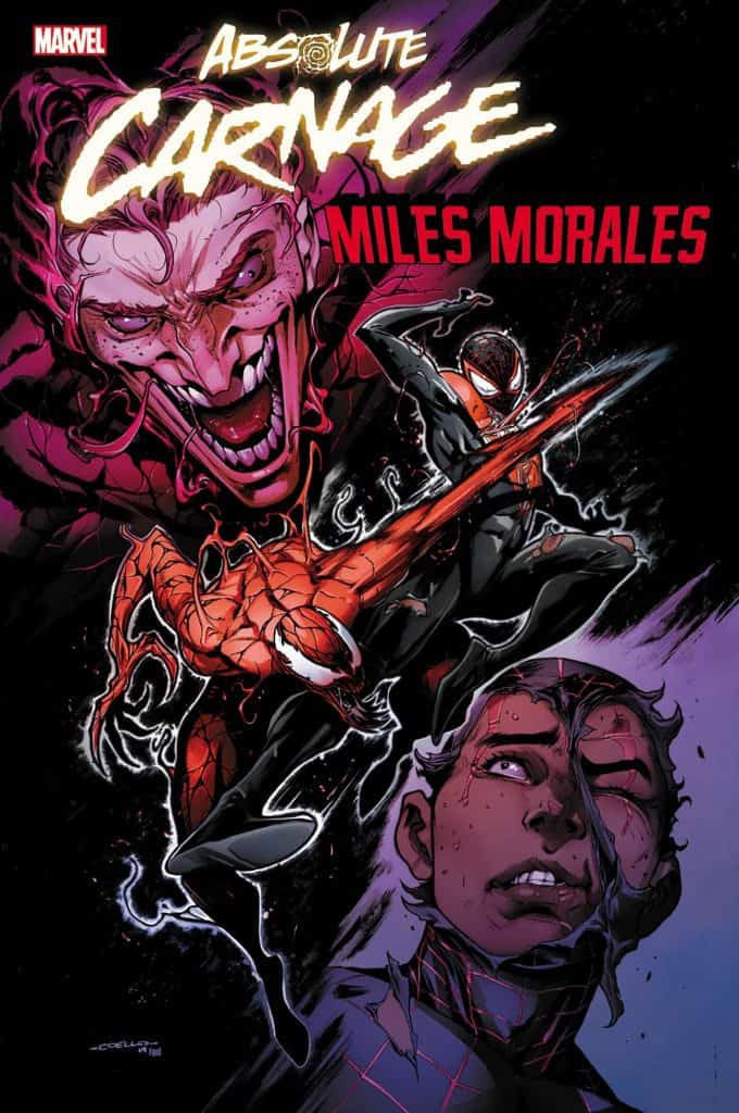 Absolute Carnage: Miles Morales #1 - Variant Cover by Iban Coello