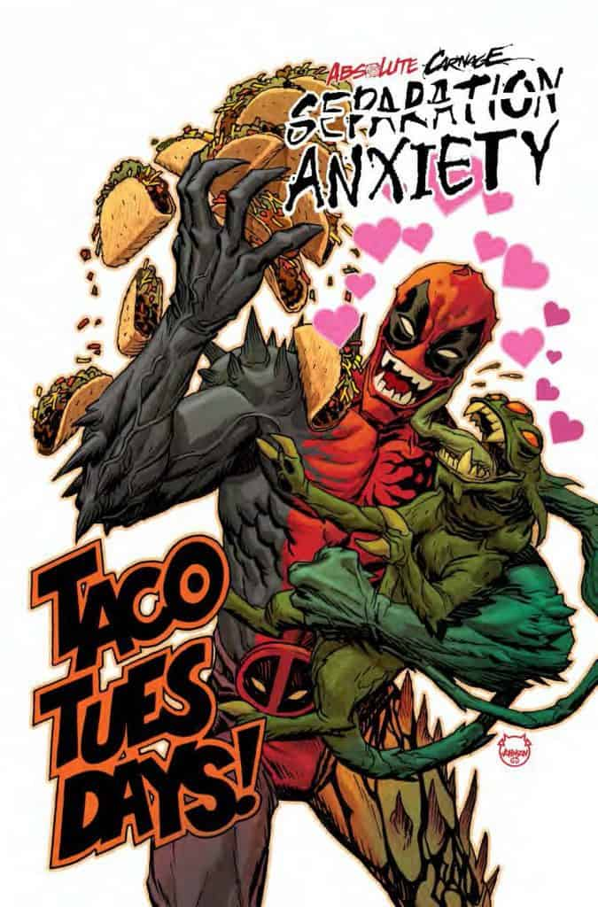 Absolute Carnage: Separation Anxiety #1 - Cover B