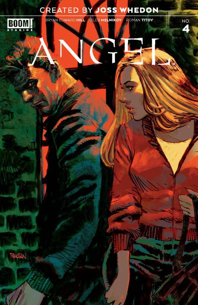ANGEL #4 - Main Cover