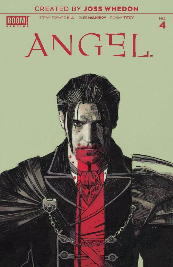 ANGEL #4 - One Per Store Cover