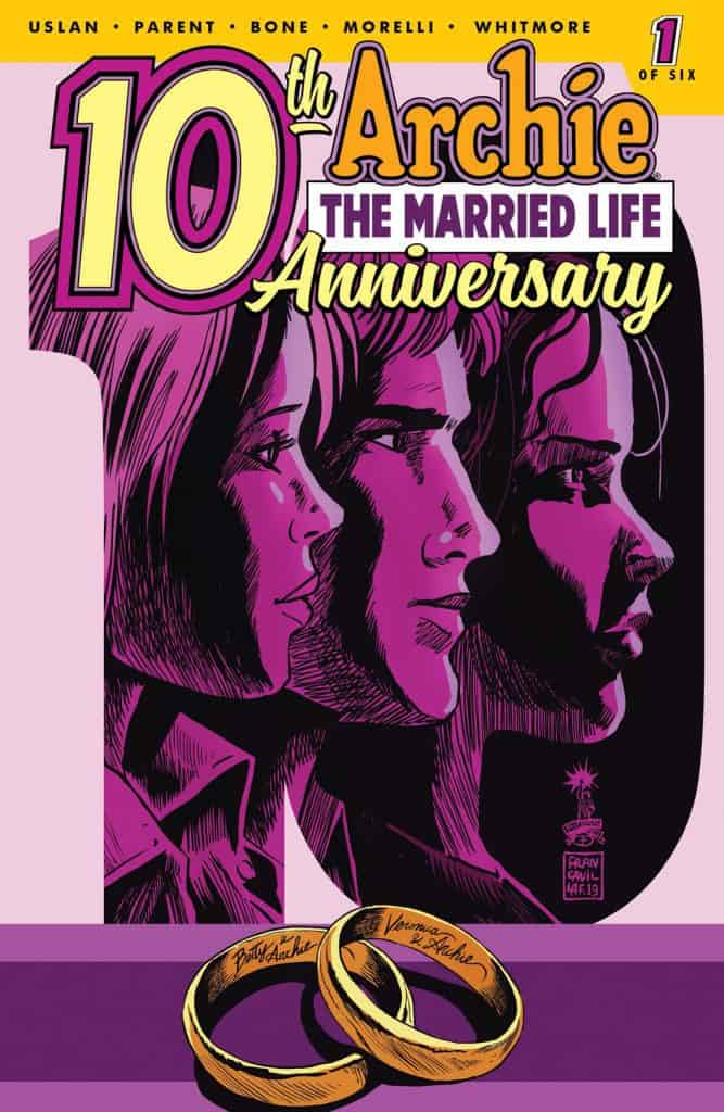 ARCHIE: THE MARRIED LIFE 10 YEARS LATER #1 - Cover C by Francesco Francavilla