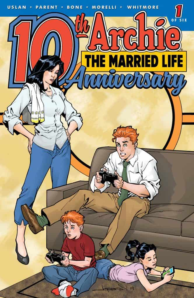 ARCHIE: THE MARRIED LIFE 10 YEARS LATER #1 - Cover E by Aaron Lopresti