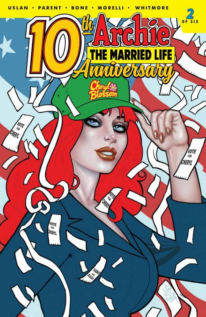 ARCHIE THE MARRIED LIFE: 10th ANNIVERSARY #2 - Variant Cover by Jim Balent