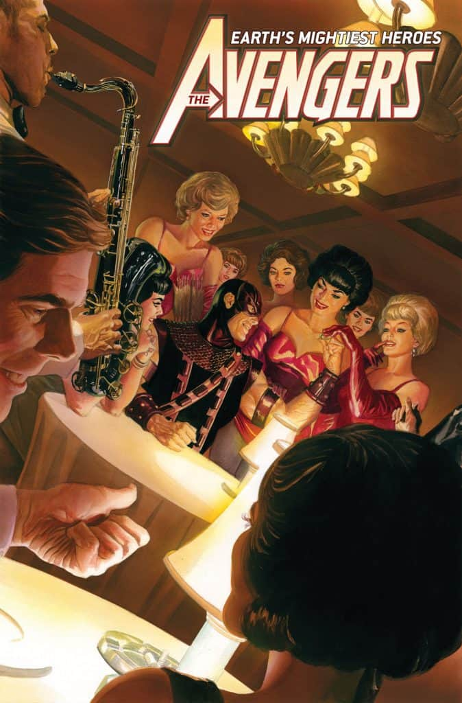 Avengers #23 - Variant Cover by Alex Ross
