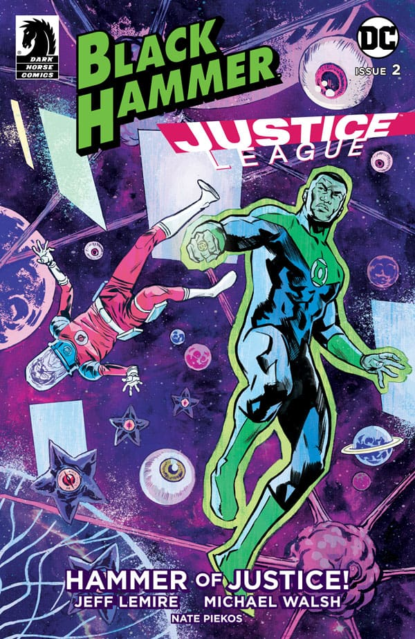 BLACK HAMMER/JUSTICE LEAGUE #2 - Cover A