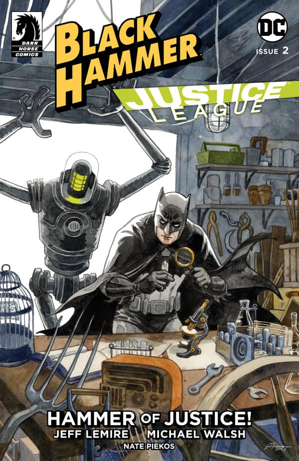 BLACK HAMMER/JUSTICE LEAGUE #2 - Cover B