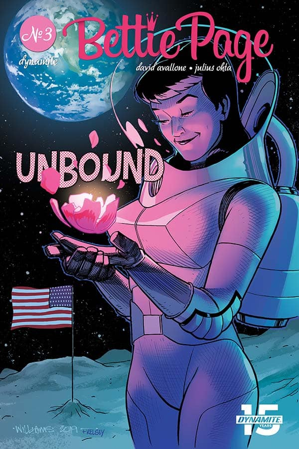 Bettie Page: Unbound #3 - Cover C
