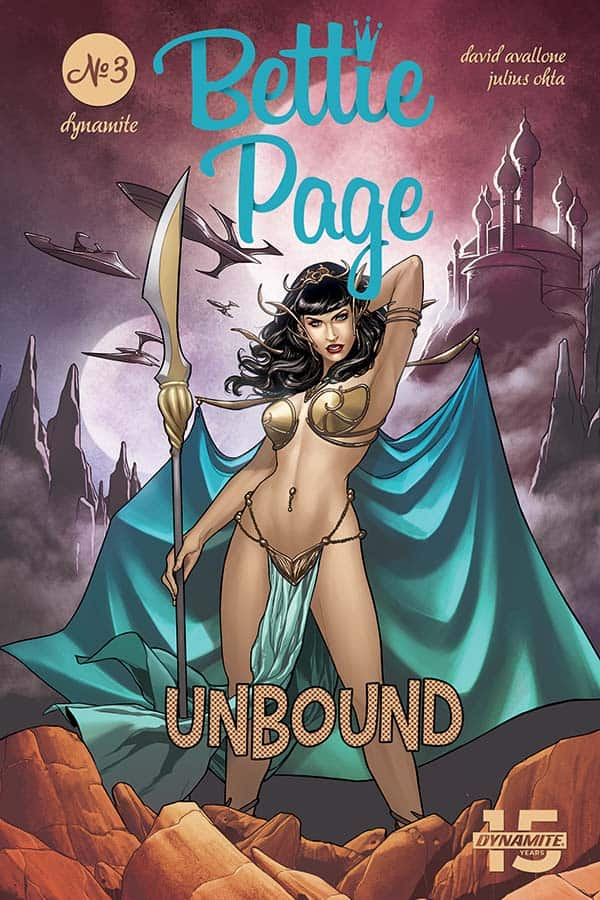 Bettie Page: Unbound #3 - Cover D