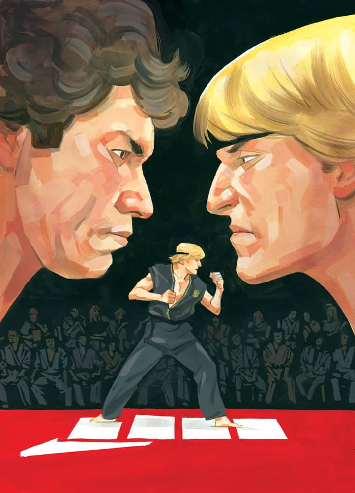 Cobra Kai: The Karate Kid Saga Continues #1 - Cover A