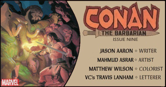 Conan the Barbarian #9 preview feature